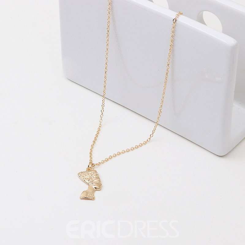 Ericdress Silver Figure Necklaces