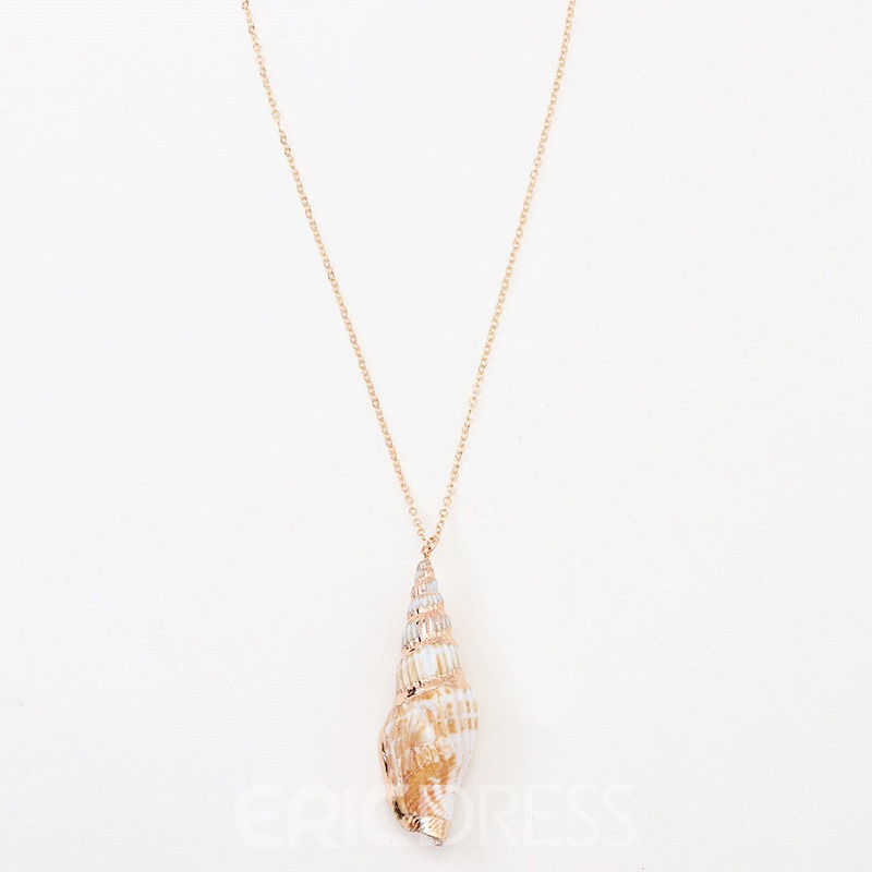 Ericdress Conch Pendant Necklace