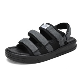 Ericdress Letter Velcro Simple Open Toe Men's Sport Sandals