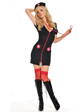 Ericdress Women Nurse Outfit Sexy Heart Breaker Costume