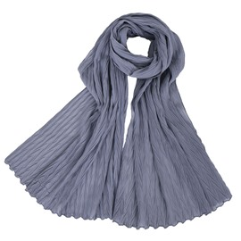 Ericdress Simple Chiffon Plain Pure Color Scarf