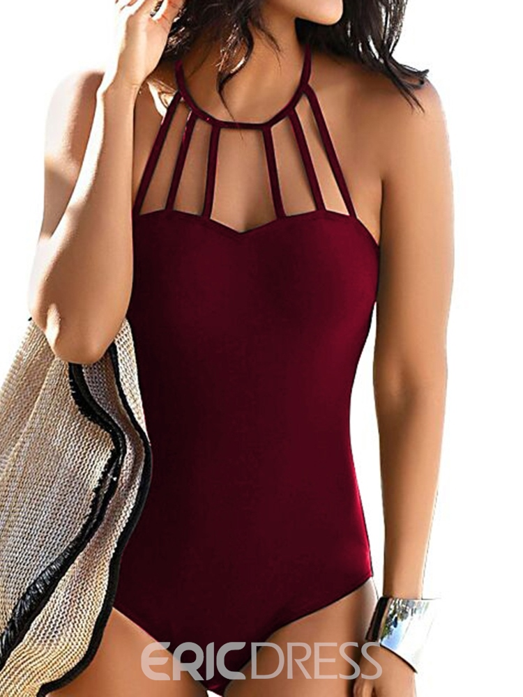 Ericdress Sexy One Piece Micro Skimpy Swimwear
