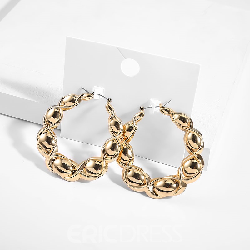 Ericdress Simple Alloy Women Earrings