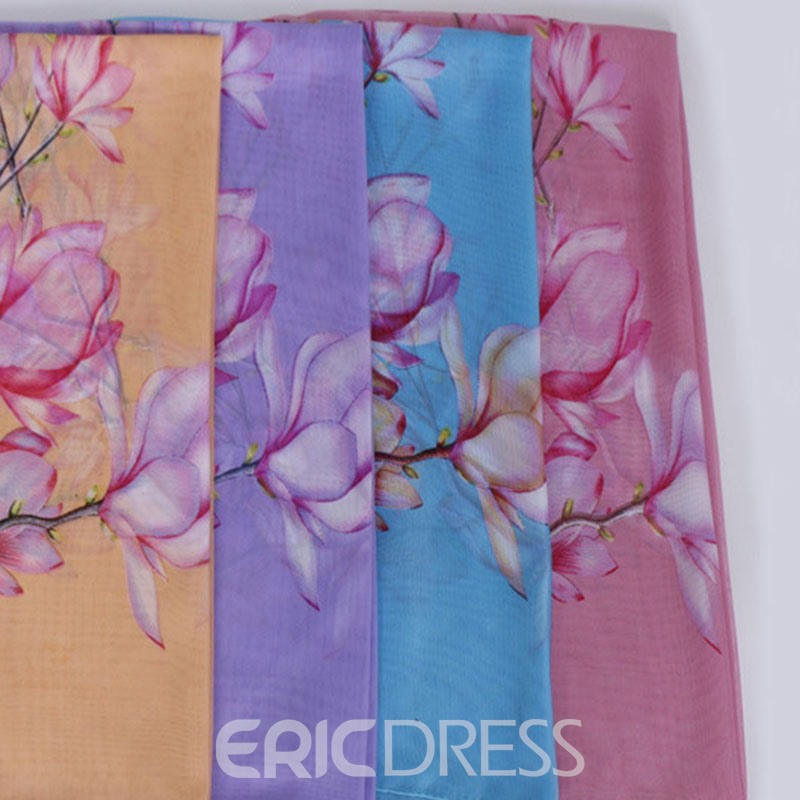Ericdress Shawl Ladylike Floral Scarf