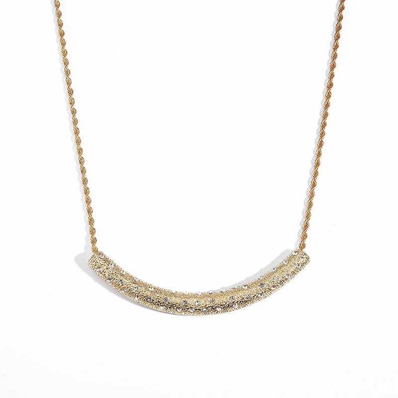 Ericdress Simple Smile Diamante Female Necklace