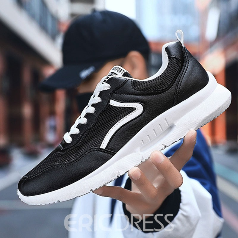 Ericdress Mesh Color Block Men's Casual Sneakers
