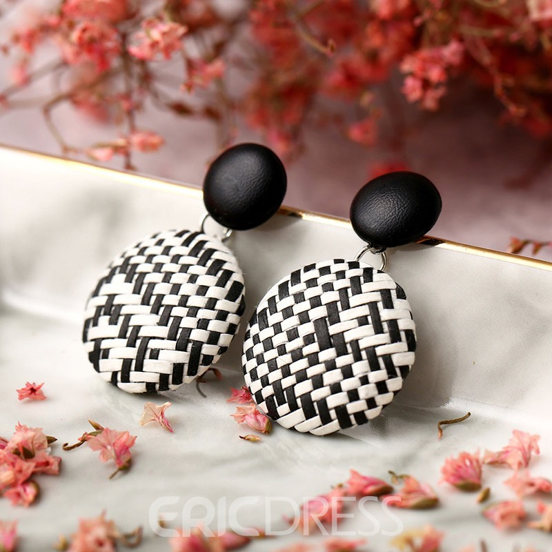 Ericdress Vintage Woven Lady Earrings