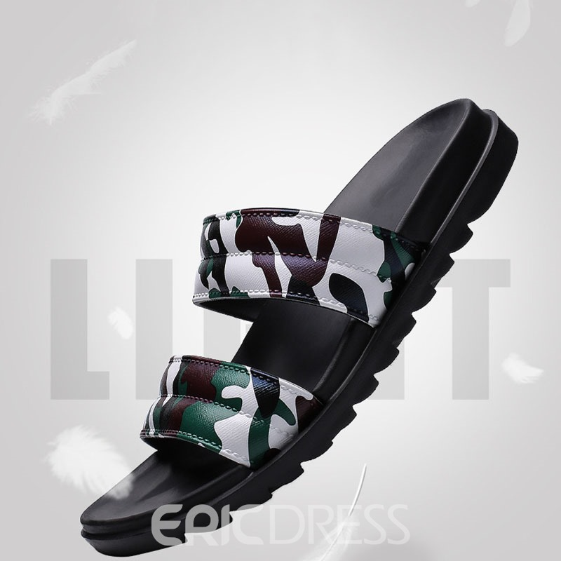 Ericdress Camouflage Simple Summer Men's Slippers