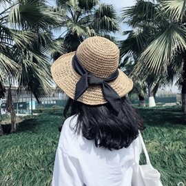 Ericdress Straw Straw Plaited Article Plain Summer Hat