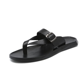 Ericdress Plain Thong Summer Simple Men's Slippers