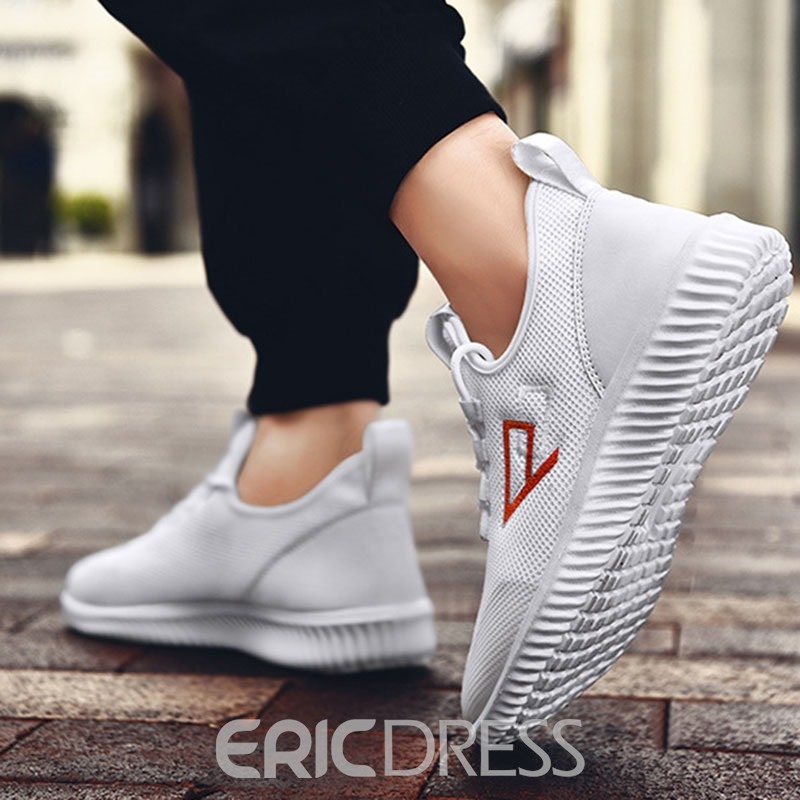 Ericdress Breathable Mesh Low-Cut Upper Lace-Up Men's Sneakers