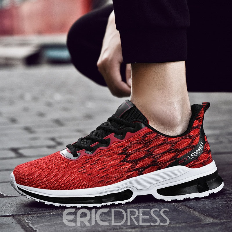Ericdress Mesh Color Block Men's Sports Shoes