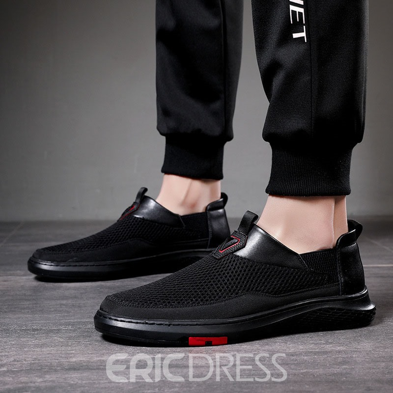 Ericdress Simple Low-Cut Upper Slip-On Men's Casual Shoes