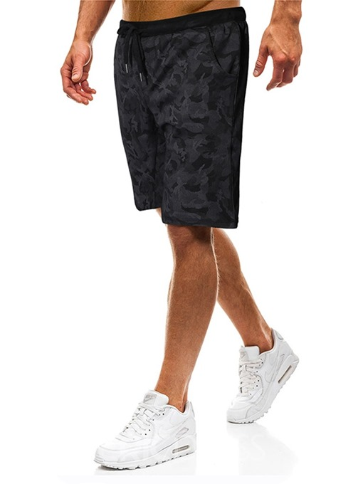 Ericdress Thin Camouflage Straight Lace-Up Mens Casual Pants