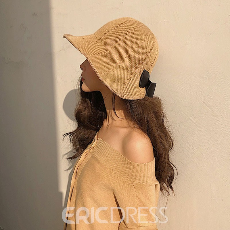 Ericdress Bucket Casual Plain Spring Hat