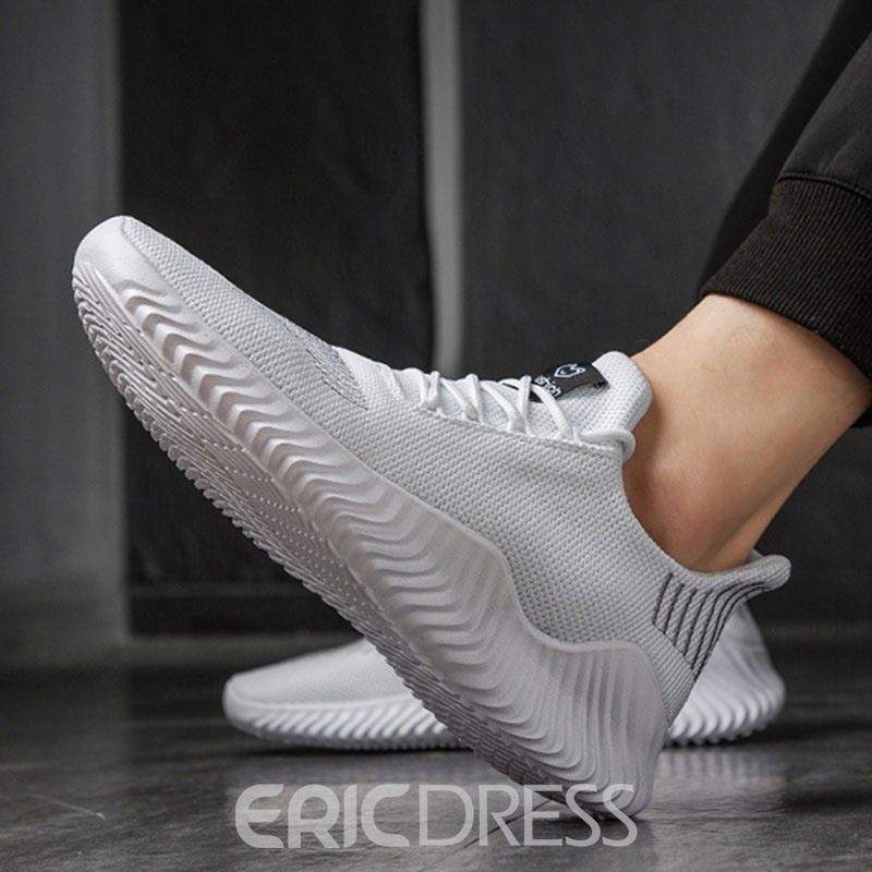 Ericdress Mesh Lace-Up Low-Cut Upper Men's Sports Shoes