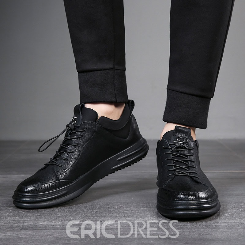 Ericdress Plain Elastic Band Men's Sneakers