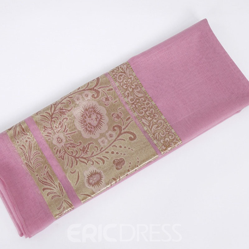 Ericdress Polyester Print Floral Scarf