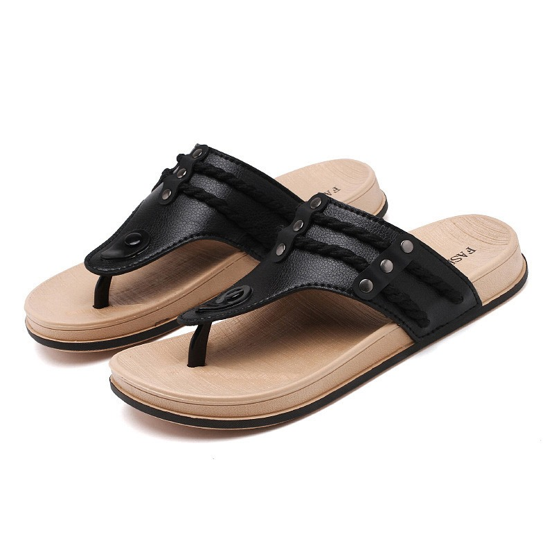 Ericdress Simple Plain Men's SummerSlippers