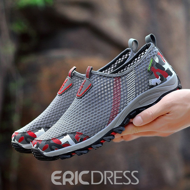 Ericdress Mesh Slip-On Men's Outdoor Sneakers
