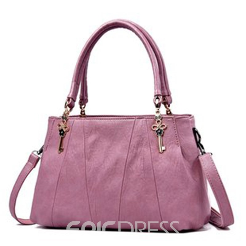 Ericdress Huge Space Plain Rectangle Handbags