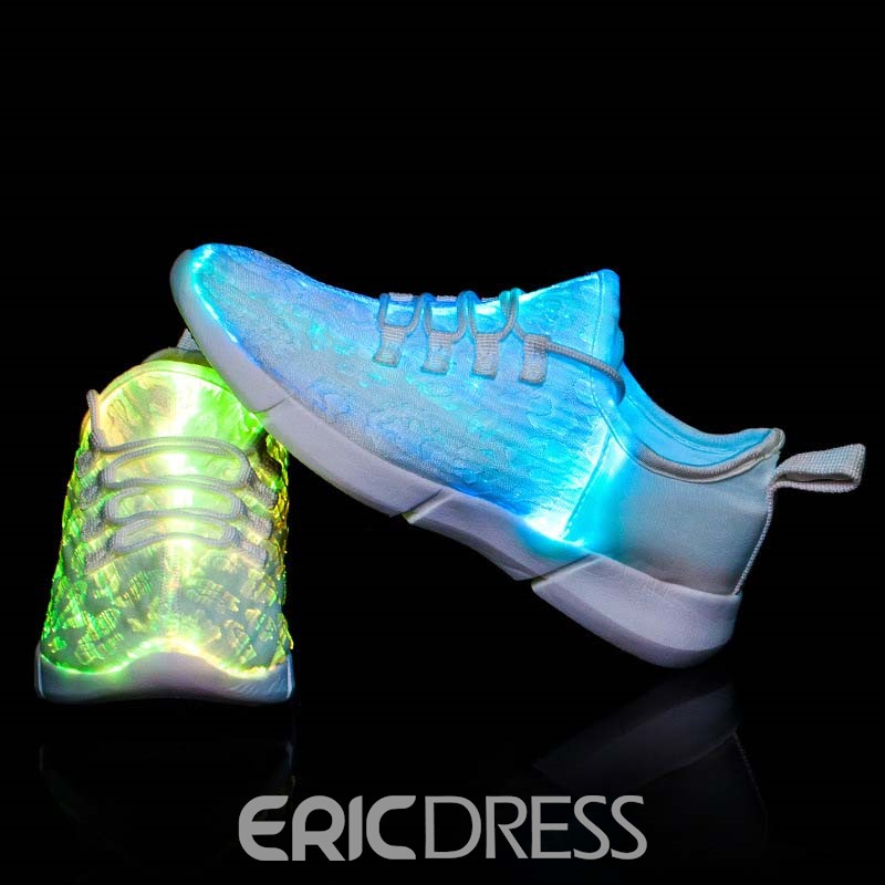 Ericdress Mesh Lace-Up Men's Chic Sneakers