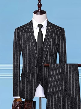 Ericdress Fashion Polyester One Button Mens Dress Suit