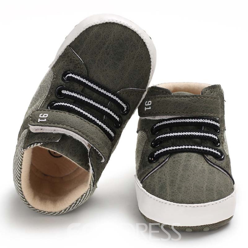 Ericdress Velcro Color Block Toddler Shoes