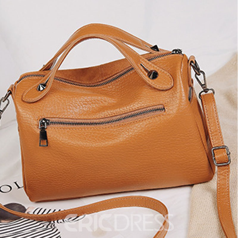 Ericdress Modern Style PU Rivet Handbags