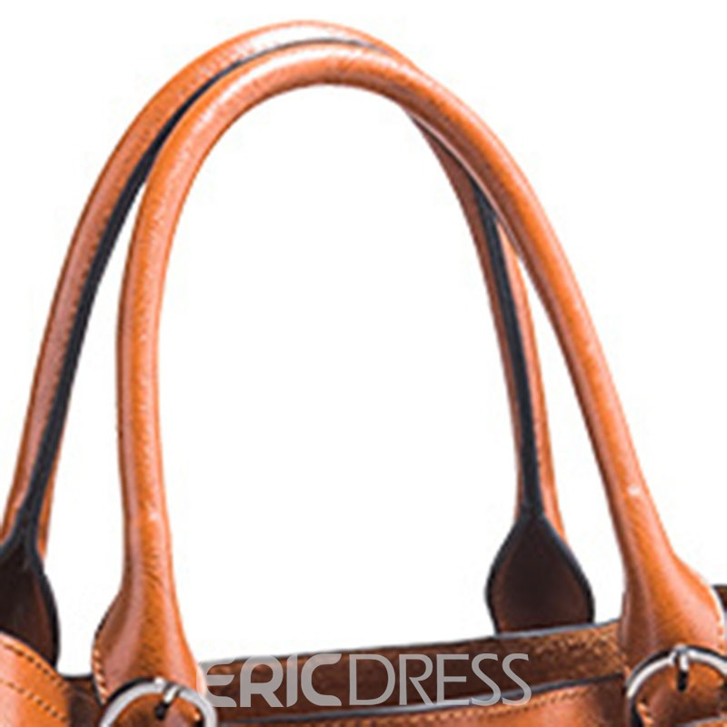 Ericdress Plain Thread European Handbags