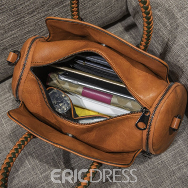 Ericdress Thread PU Pillow Handbags