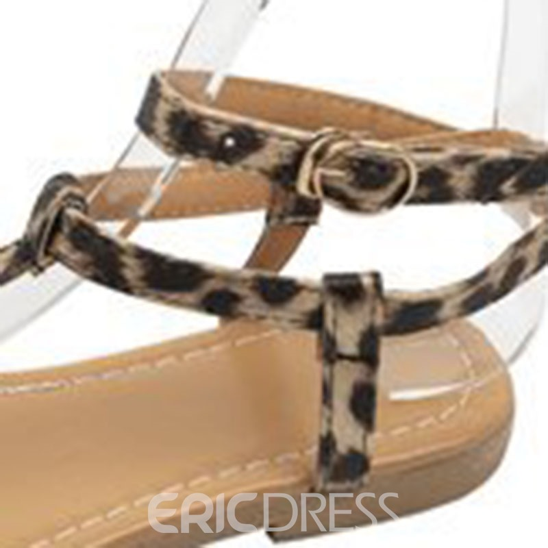 Ericdress Open Toe Strappy Women's Flat Sandals