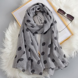 Ericdress Cotton Dot Scarf