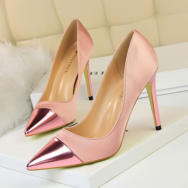 Ericdress_Plain_Pointed_Toe_Stiletto_Heel_SlipOn_Womens_Pumps