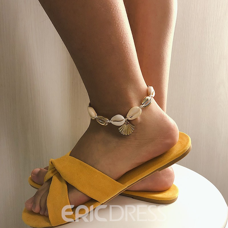 Ericdress E-Plating Plain Conch Anklet (just 1 Pic)