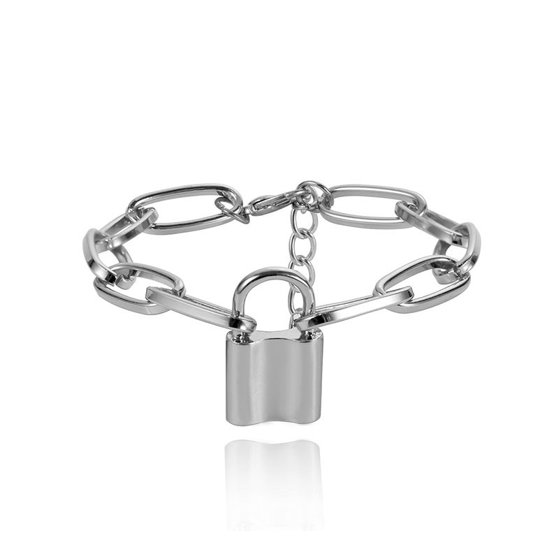 Ericdress Lock Plain Female Bracelet