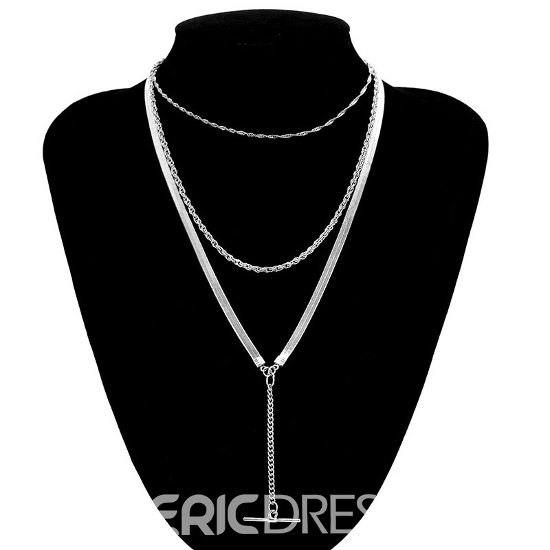 Ericdress Polka Dots T Necklace