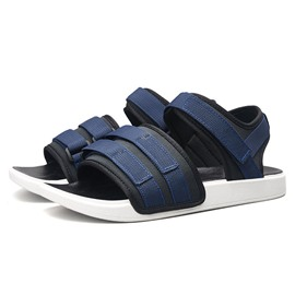 Ericdress Color Block Velcro Open Toe Men's Sports Sandals