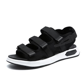 Ericdress Simple Velcro Open Toe Men's Sports Sandals