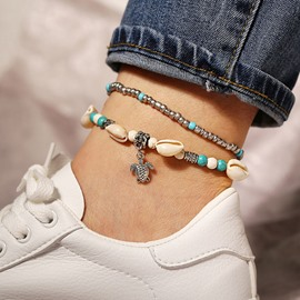 Ericdress Bohemian Animal Conch Anklet