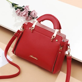 Ericdress Silt Pocket PU Handbags