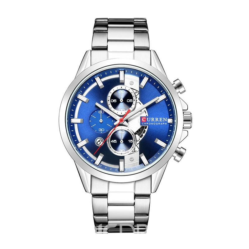 Ericdress Round Quartz Double Dial Watch