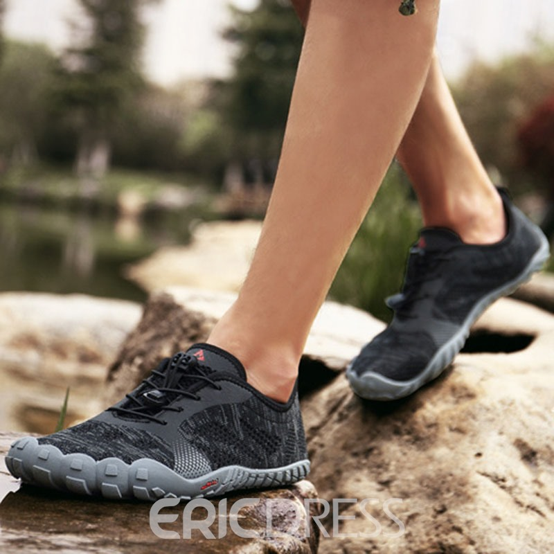 Ericdress Lace-Up Round Toe Men's Outdoor Water Shoes
