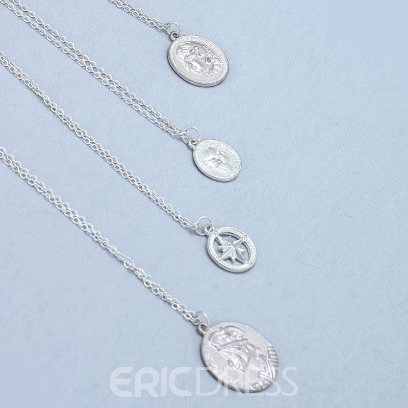 Ericdress Figure Round Female Necklaces