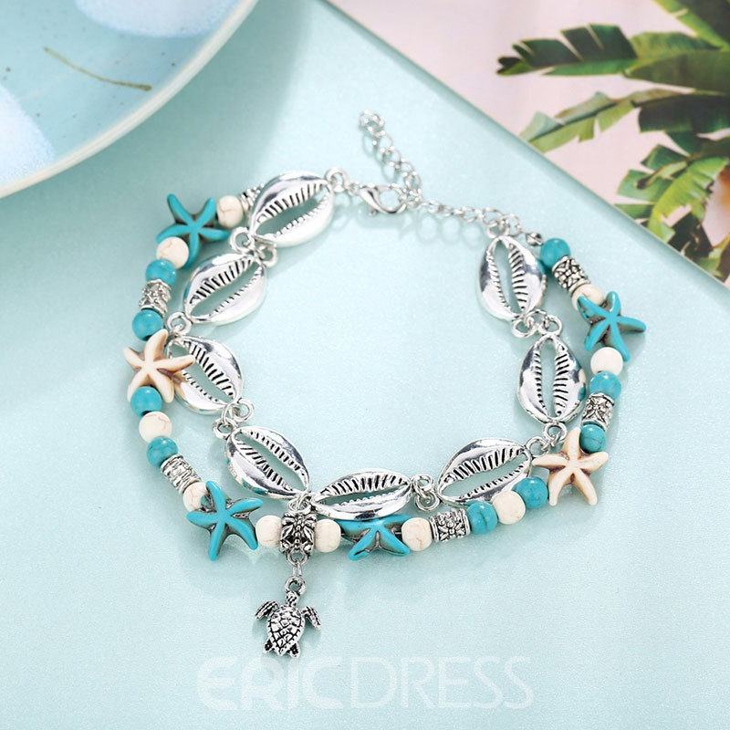 Ericdress Animal Female Star Anklet