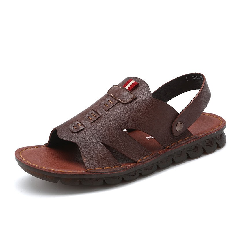 Ericdress Simple Slip-On Open Toe Men's Sandals