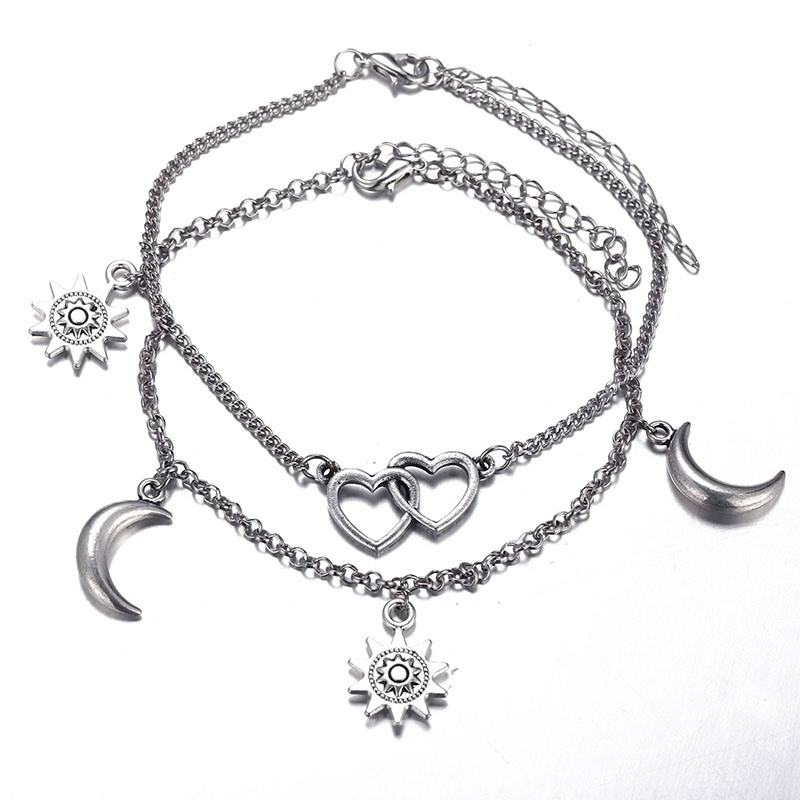 Ericdress Heart Female Anklets