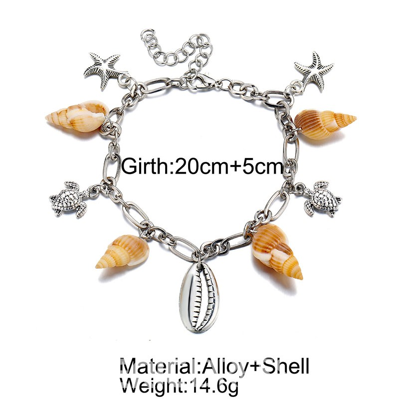 Ericdress Female Conch Anklets