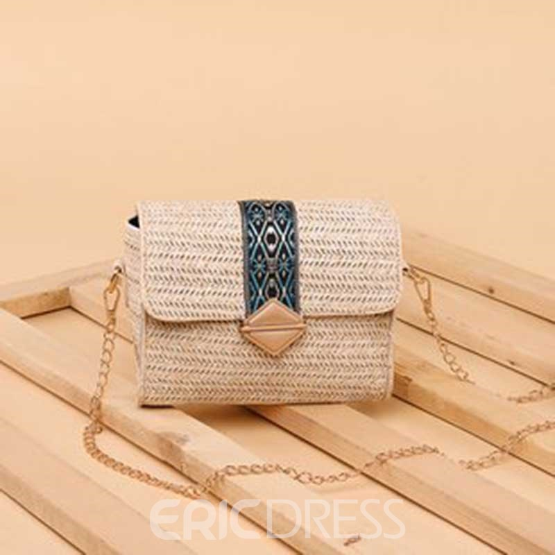 Ericdress Linen Mini Crossbody Bags