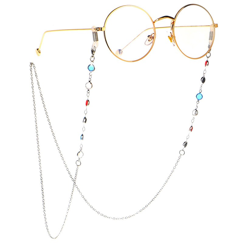 Ericdress Colour Sunglasses Chain